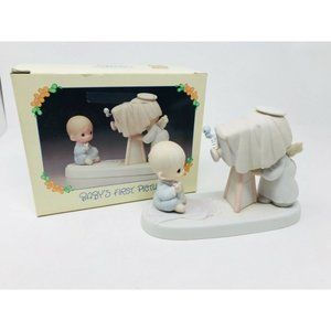 Precious Moments Enesco Baby's First Picture 1983